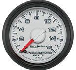 "Autometer Gauge, Pyro. (EGT), 2 1/16"", 1600şF, Stepper Motor, Ram Gen 3 Fact. Match 8544"