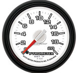 "Autometer Gauge, Pyro. (EGT), 2 1/16"", 2000şF, Stepper Motor, Ram Gen 3 Fact. Match 8545"