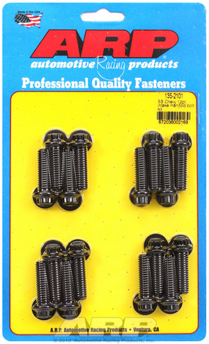 ARP BB Chevy 12pt intake manifold bolt kit 1352101