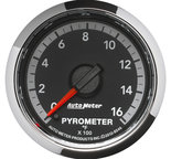 "Autometer Gauge, Pyro. (EGT), 2 1/16"", 1600şF, Stepper Motor, Ram Gen 4 Fact. Match 8546"