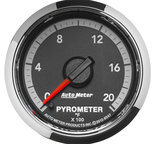 "Autometer Gauge, Pyro. (EGT), 2 1/16"", 2000şF, Stepper Motor, Ram Gen 4 Fact. Match 8547"