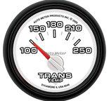 "Autometer Gauge, Trans. Temp, 2 1/16"", 100-250şF, Electric, Ram Gen 3 Factory Match 8549"