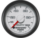 "Autometer Gauge, Exhaust Press., 2 1/16"", 100psi, Stepper Motor, Ram Gen 3 Factory Match 8595"