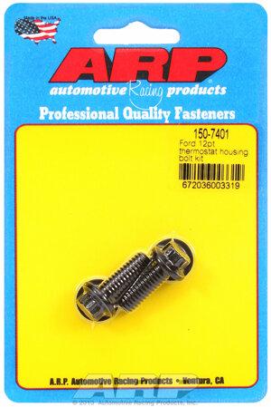 ARP Ford 12pt thermostat housing bolt kit 1507401