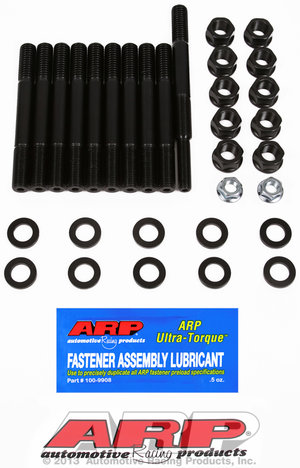 ARP Ford 351W 2-bolt main stud kit, dual/rear sump oil pan 1545409