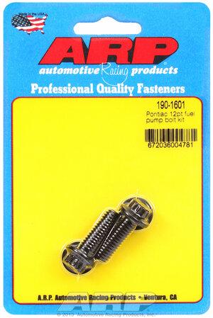 ARP Pontiac 12pt fuel pump bolt kit 1901601