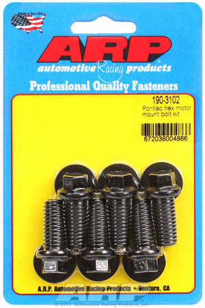 ARP Pontiac hex motor mount bolt kit 1903102