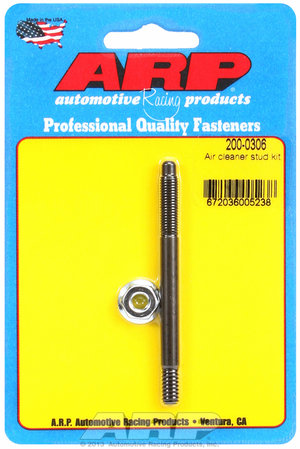 "ARP 1/4"" x 3.200  air cleaner stud kit 2000306"