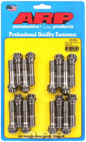 ARP Manley & Elgin steel replacement rod bolt kit 2006003
