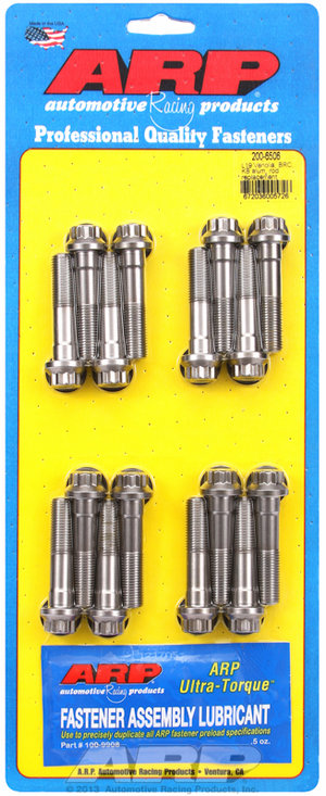 ARP Venolia, BRC, Brooks & KB L19 alum rod repl't rod bolt kit 2006506