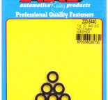 ARP 1/4 ID .440 OD no chamfer black washers 2008440