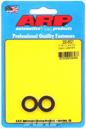 ARP 7/16 ID 3/4 OD black washers 2008521