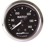 "Autometer Gauge, Water Temp, 2 1/16"", 60-140şC, Mechanical, Cobra 201007"