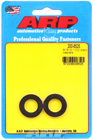 ARP 9/16ID 1.00 OD black washers 2008525