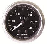 "Autometer Gauge, Oil Temp, 2 1/16"", 60-140şC, Mechanical, Cobra 201008"