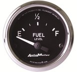 "Autometer Gauge, Fuel Level, 2 1/16"", 240?E to 33?F, Elec, Cobra 201011"