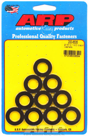 ARP 9/16 ID 1.00 OD black washers 2008535