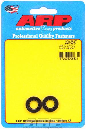 ARP 3/8 ID 3/4 OD black washers 2008547