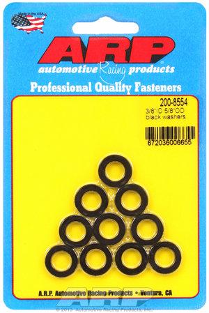 ARP 3/8 ID 5/8 OD black washers 2008554