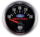"Autometer Gauge, Water Temp, 2 1/16"", 100-250şF, Electric, Ford Racing 880077"