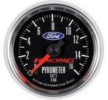 """Autometer Gauge, Pyrometer (EGT), 2 1/16"""", 1600şF, Digital Stepper Motor, Ford Racing 880078"""