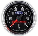 "Autometer Gauge, Oil Temp, 2 1/16"", 140-280şF, Digital Stepper Motor, Ford Racing 880079"