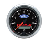 "Autometer Gauge, Speedometer, 3 3/8"", 160mph, Elec. Programmable, Ford Racing 880082"