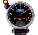"Autometer Gauge, Tachometer, 3 3/4"", 10k RPM, Pedestal w/ ext. Quick-Lite, Ford Racing 880083"