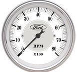 "Autometer Gauge, Tachometer, 3 1/8"", 8k RPM, In-Dash, Ford Masterpiece 880088"