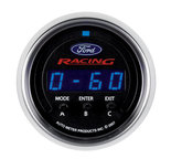 """Autometer Gauge, Perf. Meter, 2 1/16"""", 1/4 Mile/HP/0-60/60-0/G Forces, Digital, Ford Racing 880089"""
