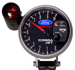 "Autometer Gauge, Tach, 5"", 10k RPM, Pedestal w/ ext. Shift-Lite, Ford Racing 880118"