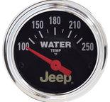 "Autometer Gauge, Water Temp, 2 1/16"", 250şF, Elec, Jeep 880241"
