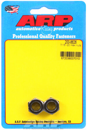 ARP 7/16-20 hex nut kit 2008626