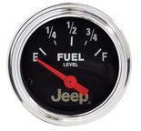 "Autometer Gauge, Fuel Level, 2 1/16"", 0?E to 90?F, Elec, Jeep 880243"