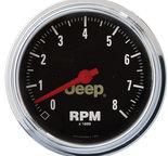 "Autometer Gauge, Tachometer, 3 3/8"", 8k RPM, In-Dash, Jeep 880246"