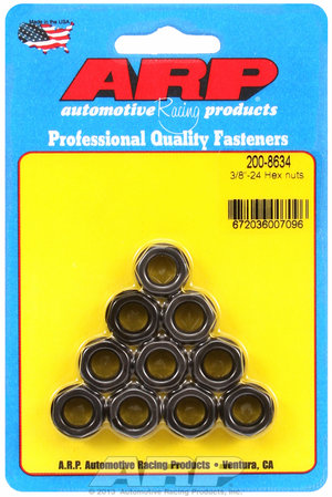ARP 3/8-24 hex nut kit 2008634
