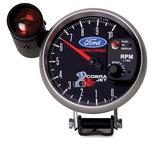 "Autometer Gauge, Tach, 5"", 10k RPM, Pedestal w/ ext. Shift-Lite, Ford Racing 'Cobra Jet' 880281"