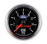 "Autometer Gauge, Brake Press, 2 5/8"", 1600psi, Digital Stepper Motor, Ford Racing 880362"