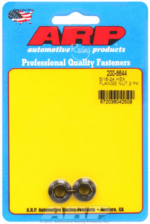 ARP 5/16-24 hex flange nut kit 2008644