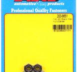 ARP 1/4-28 black coarse hex nut kit 2008651