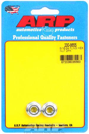 ARP 5/16-24 hex flanged nut 2008655