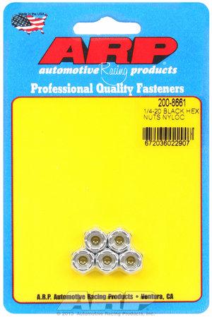 ARP 1/4-20 cad coarse nyloc hex nut kit 2008661