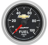 "Autometer Gauge, Brake Press, 2 5/8"", 1600psi, Digital Stepper Motor, GM COPO Camaro 880450"
