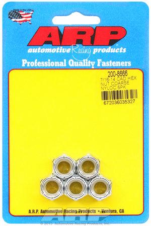 ARP 7/16-14 cad coarse nyloc hex nut kit 2008666