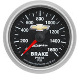 "Autometer Gauge, Tach, 5"", 10k RPM, Pedestal w/ext. Super-Lite, Ford Racing 'Cobra Jet' 880487"