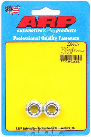 ARP M10 X 1.25 locking flange nut kit 2008673