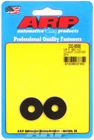 ARP M6 ID .990 OD black washers 2008686