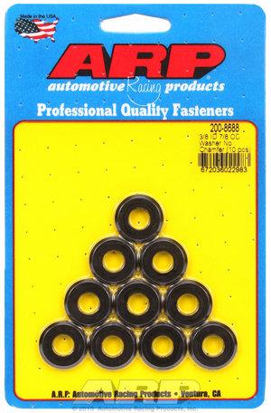 ARP 3/8 ID 7/8 OD(radiused) black washers 2008688