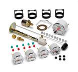 "Autometer Gauge Kit, 5 pc., 3 1/8"" & 2 1/16"", Mech. Speedo., Chevrolet Heritage Bowtie 1300-00408"