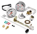 "Autometer Gauge Kit, 2 pc., Quad & Speedometer, 5"", Chevrolet Heritage Bowtie 1303-00408"